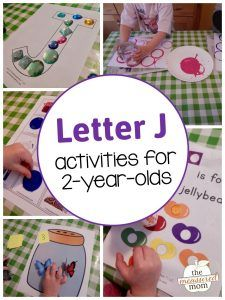 Alphabet Activities for - The Measured Mom If you're teaching your toddler the alphabet, you'll want to check out this huge list of playful alphabet activities for 2 year olds! Toddler Learning Activities, Montessori Activities, Alphabet Activities, Motor Activities, Letter J Activities For Preschoolers, Family Activities, Preschool Curriculum, Homeschooling, Letter J Crafts