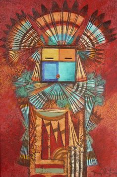 """Yei of Morning Light"" - Native American Artwork by Tony Abeyta"