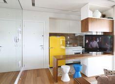 A arquiteta Duda Senna apostou na integração para criar uma área social mais ampla e confortável. Confira o projeto e mais uma seleção de dicas da profissional