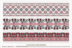 Semne Cusute: Romanian traditional motifs - MOLDOVA - Iasi, Aroneanu