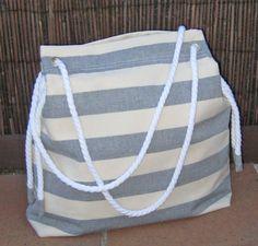 Bolso de tela para la playa