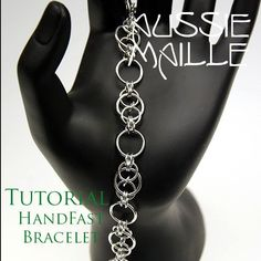 Chainmaille Tutorial HandFast Bracelet