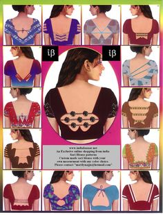 More Choli Back designs