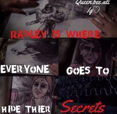 Radley= Mona Vanderwal, Mrs. Cavanaugh, Bethany Young, Eddie Lamb, Wren Kingston, Spencer Hastings, Jessica DiLaurentes