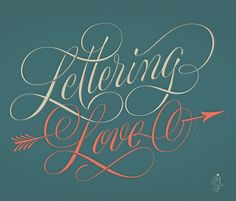 'Lettering Love' by Martina Flor for Creative Live. Download this wallpaper for free http://blog.creativelive.com/lettering-love-desktop-wallpaper/