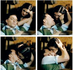Tom Hiddleston and Rachel Weisz in The Deep Blue Sea, Dir. Terence Davies (2012). This movie is about a destructive relation ship... well made but not enjoyable...
