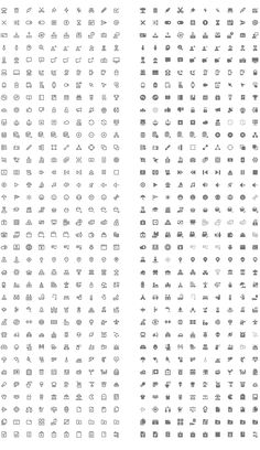 350 Free Vector Icons. Google Material Design Icons Style.