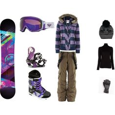 """Snowboarding Outfit.."