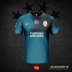 Galatasaray Home, Away and Third Kits by Emre Baykal - Footy Headlines