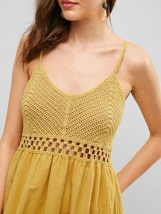 Crochet Beach Dress, Crochet Blouse, Crochet Top, Crochet Shoes Pattern, Crochet Fabric, Motif Bikini, Crochet Baby Jacket, Cute Casual Dresses, Fall Dresses