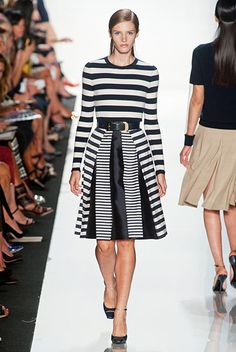 New York Spring 2013 Trend Report - Runway Spring Fashion Trends 2013 - Harper's BAZAAR #GETGRAPHIC