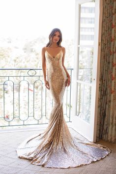 Yassmine Sequins Luxe - Rose Gold