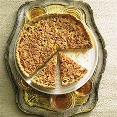 Whisky toffee almond tart Recipe | delicious. Magazine free recipes
