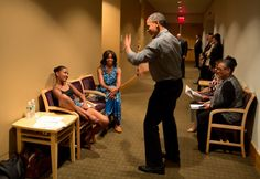 President Obama Shows off his Dance Moves at Sasha's Dance Recital