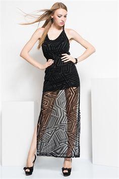 İRONİ ÖN FLOK TÜL YANLAR YIRTMAÇLI SİYAH ELBİSE Prom Dresses, Formal Dresses, Tulum, The Dress, Black, Fashion, Dresses For Formal, Moda, Formal Gowns