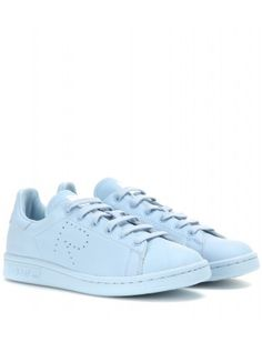 e8f0a0d7be96df Adidas by Raf Simons - Stan Smith leather sneakers - Featuring a perforated   R