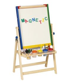 Love this 4-in-1 Flipping Floor Easel by Guidecraft on #zulily! #zulilyfinds