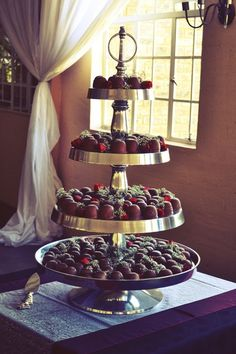 Truffle Wedding cake by Diane Colquhoun Pie Wedding Cake, Traditional Wedding Cake, Unique Cakes, Here Comes The Bride, Truffles, Tumblr, Wedding Ideas, Weddings, Sweet