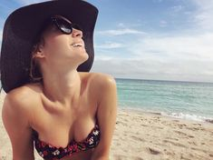 Cl Instagram, Ksenia Solo, June Gloom, Nice Tops, Bikinis, Swimwear, Actresses, Celebrities, Beach