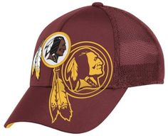 NFL Washington Redskins End Zone Structured Flex Hat - Tw86Z Reebok.  19.95 f517d503d