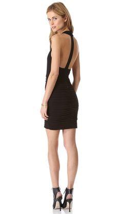 f67d62a754 alice + olivia Elaina T Back Dress Olivia Black