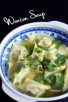 Wonton Recipes, Tofu Recipes, Wrap Recipes, Curry Recipes, Asian Recipes, Healthy Recipes, Ethnic Recipes, Asian Foods, Chinese Recipes