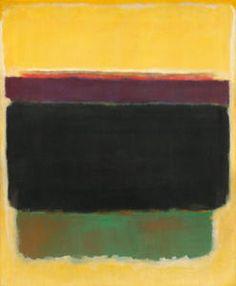 Mark Rothko (Marcus Rothkowitz) - Untitled 80