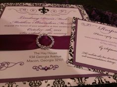Check out our #embellishments on our custom #wedding invitations