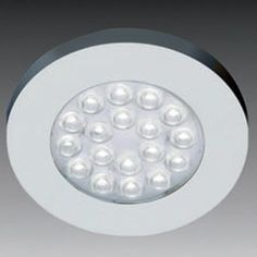 """Hardware Distributors HLERLEDCW SS Round Led Cool White Spotlight - Stainless Steel by Hardware Distributors. $39.81. Designed for surface mounting.. Available with cool white LEDs.. Each light has 1.2 watts of LEDs (Light emitting diodes).. Dimmable.. Comes with 98 connecting cable.. Each light has 1.2 watts of LEDs (Light emitting diodes). Dimmable. Available with cool white LEDs. Comes with 98"""" connecting cable. Designed for surface mounting. Round LED (HLERLED) ..."""