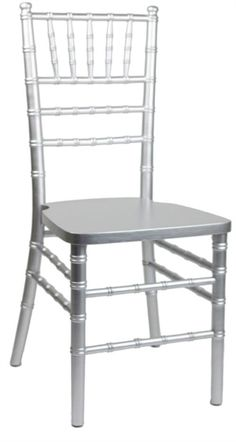 #SILVER #CHIAVARI BEECHWOOD #CHAIRS - Free Cushion - 1,000 lb Capacity - 4 Paint Coats - 4 Metal Braces - Quality Chiavari Chairs Since 2002 - Call for Special Discounts Sale Price $32.00 Sales ask for Dana 855-653-8411  Product Code: : 770S http://www.california-chiavari-chairs.com/Silver_Chiavari_Wholesale_Chairs_p/770s.htm