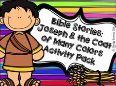 Joseph and the Coat of Many Colors Activity Pack