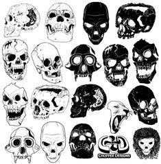 Free Skull Vector Graphics