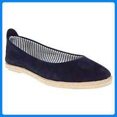 Womens Lotus Blue Maite Suede Shoes Espadrilles Slip On Lotus, Blue Flats, Blue Shoes, Espadrille Shoes, Suede Shoes, Partner, Shoe Brands, Fashion Brands, Topshop