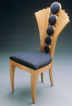 Designed by Joseph Hoffmann, in white oak