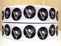 Pittsburgh Penguins Hockey  1 5 yards by KBRS on Etsy, $4.95