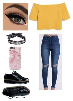 """""""Untitled #708"""" by valerialoman on Polyvore featuring Monki, Pilot and Fallon"""