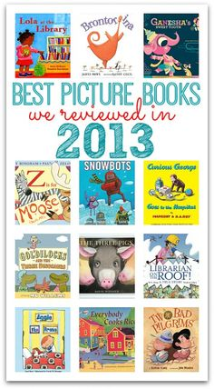 Great picture book list for kids - What was your favorite picture book you read with your kids this year?