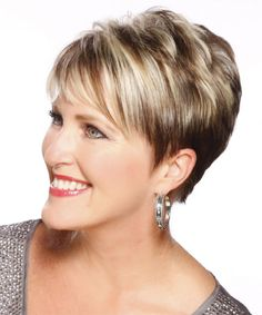 Image result for short haircuts for women over 50 Rear Views