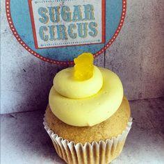 Lemonade Cupcake  Gluten Free AND Vegan!
