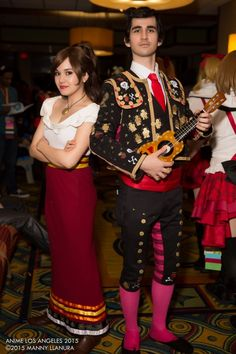The Book of Life   Manolo Sanchez (http://scriptgiant.tumblr.com/) & Maria Posada (http://luckyredundies.tumblr.com/)   Thank you mexopolis for creating a beautiful film that showcases our rich culture. Viva Mexico!   Gracias mexopilos por hacer una pelicula tan hermosa que muestra una cultura rica. ¡Que Viva Mexico!