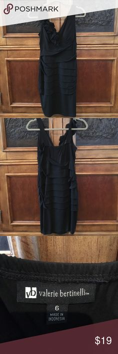 Valerie Bertinelli Black Evening Dress Sz 6 Valerie Bertinelli Black Evening Dress Sz 6. NWOT Valerie Bertinelli Dresses Mini