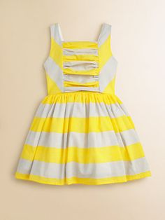 $79 Halabaloo - Toddler's & Little Girl's Striped Dress - Saks.com