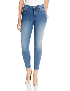 NYDJ Women's Adaleine Skinny Ankle Jeans In Karval -- This is an Amazon Affiliate link. Click image to review more details.
