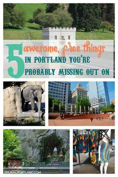 There are plenty of free thing in Portland to do -- here are five you might not know about.