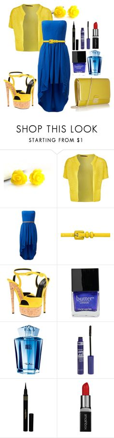 """""""#28"""" by breezygurl88 ❤ liked on Polyvore featuring iti, Forever New, Giuseppe Zanotti, Butter London, Thierry Mugler, American Apparel, Napoleon Perdis, Smashbox and Marc Jacobs"""
