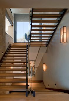 Staircase Photos Open Staircase Design, Pictures, Remodel, Decor and Ideas - page 7 Staircase Contemporary, Modern Staircase, Staircase Design, Staircase Ideas, Contemporary Design, Open Stairs, Glass Stairs, Armani Hotel, Stairway Lighting