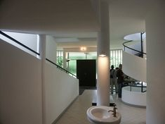 Modern House Constructed in 1929 - Villa Savoye by Le Corbusier