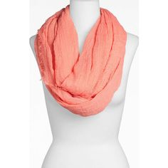 Tasha 'The Ringer' Infinity Scarf (2 for $38) ($24) ❤ liked on Polyvore featuring accessories, scarves, tube scarf, infinity scarves, circle scarf, circle scarves and fringe infinity scarf