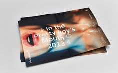 In The Pretty Boys Mouth by b14 , via Behance