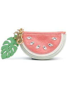 Designer Wallets & Purses For Women Shop See By Chloé watermelon coin purse. See By Chloe Bags, Chloe Wallet, See By Chloé, Cute Wallets, Cute Keychain, Keychains, Designer Wallets, Designer Purses, Coin Purse Wallet